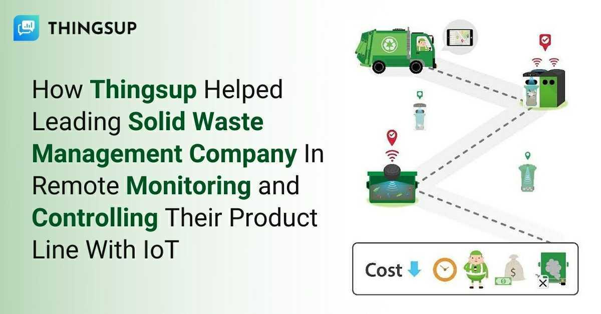 IoT tracking sensors - Thingsup